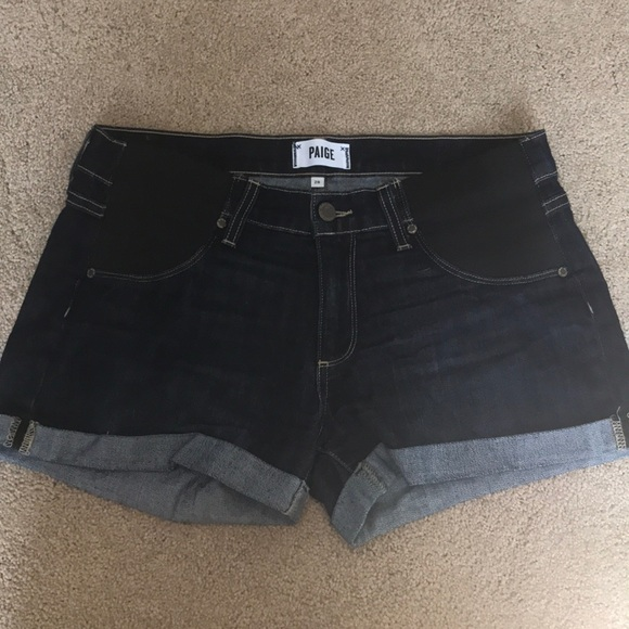 f8a1c83ec0e47 Paige Jimmy Jimmy maternity shorts with side panel.  M_5cb3b1caadb58dce561784ab